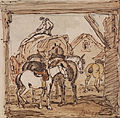 James Ward - Farmyard and Horses - Google Art Project.jpg