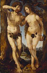 Jan Gossaert: Adam and Eve