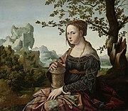 Jan van Scorel - Maria Magdalena (Rijksmuseum Amsterdam version)