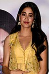 Janhvi Kapoor snapped at the press conference of the song launch from film Dhadak (01) (cropped).jpg