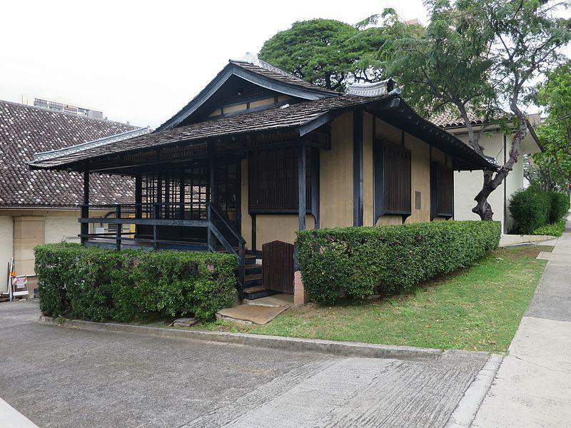 File:Japanese tea house on the grounds of the Honolulu Museum of Art .JPG