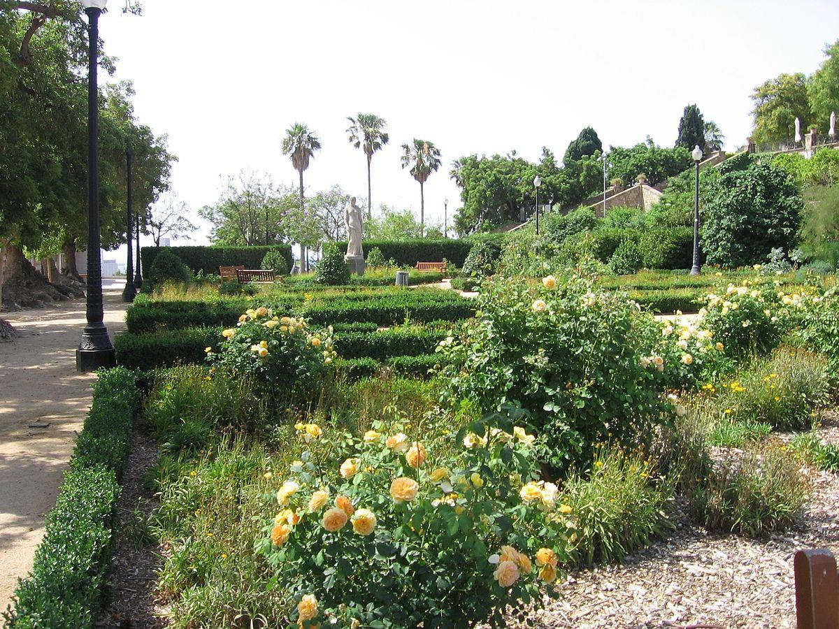 Jardines de miramar wikipedia la enciclopedia libre - Jardines de barcelona ...