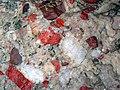 Jasper-quartz pebble conglomerate (Lorrain Formation, Paleoproterozoic, ~2.3 Ga; Ottertail Lake Northeast roadcut, near Bruce Mines, Ontario, Canada) 2 (47656127552).jpg