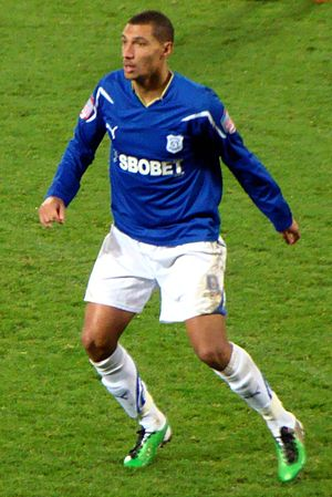 Jay Bothroyd - Bothroyd playing for Cardiff City in 2010