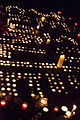 JeSuisCharlie inscrit au sol de la place de la Republique a Paris, avec des bougies.jpg