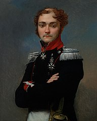 Portrait of Charles-Louis Regnault, an Officer from the NapoleonicWar