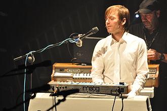 Jean-Benoît Dunckel - Jean-Benoît Dunckel performing in 2010 as one half of Air
