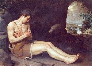 Jean-Guillaume Carlier - Image: Jean Guillaume Carlier, Saint Jean Baptiste (Musée de l'Art wallon, Liège)