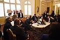 Jefa de Estado saluda al Presidente del Perú, Pedro Pablo Kuczynski (28330222720).jpg