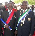 Jenkins-Johnston and President Koroma.jpg