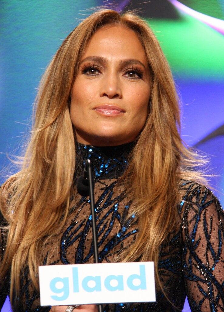 Jennifer Lopez at GLAAD Media Awards
