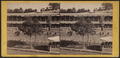 Jerome's Park. Grand Stand, front view, from Robert N. Dennis collection of stereoscopic views.png
