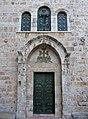 Jerusalem Armenian church entrance (6035752451).jpg