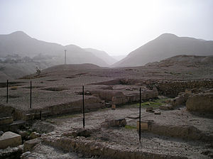 Hasmonean royal winter palaces - Excavation site