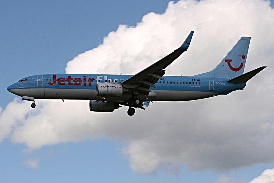 Jetairfly Boeing 737-800 OO-VAS