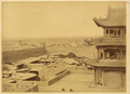 Jiayuguan Fortress, the Westernmost Fort on the Great Wall of China, Gansu Province, 1875 WDL2079.png