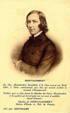 Jean-Baptiste Henri Lacordaire - Charles Forbes René de Montalembert