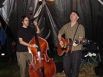 Jim's Big Ego - Flack and Infantino at the Budgiedome at the 2006 Falcon Ridge Folk Festival