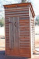 Jimmy Carter Historic Site, outhouse, Plains, GA, US.jpg