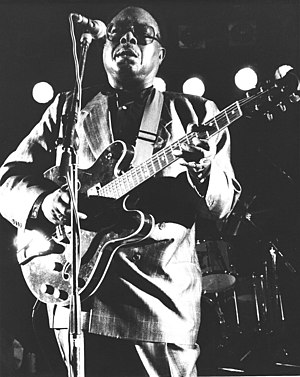 Jimmy Rogers - Rogers in concert
