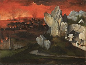 Landscape with the Destruction of Sodom and Gomorrah