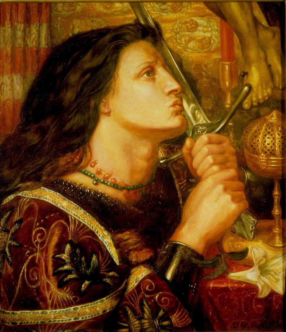 Joan of Arc by Rossetti