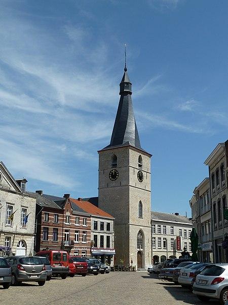 L'église Notre-Dame, Jodoigne, Belgique