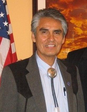 President of the Navajo Nation - Image: Joe Shirley