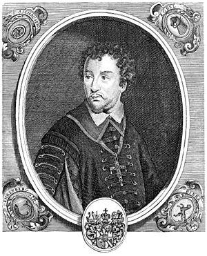 Johann Gottfried von Aschhausen - Engraving of Johann Gottfried von Aschhausen by Johann Salver.