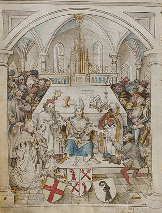 University of Basel - Inauguration ceremony of the University of Basel, 1460