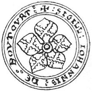 Baron Botetourt - Image: John De Botetort 1301d