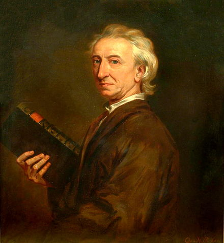 John Evelyn, who helped to found the Royal Society. JohnEvelyn1687.jpg