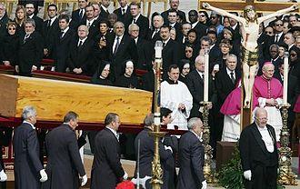 Funeral - Image: John Paul II funeral