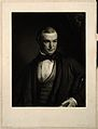 John Couch Adams. Mezzotint by S. Cousins after T. Mogford. Wellcome V0006436.jpg
