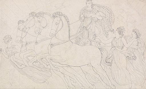 John Flaxman - The Morn, All Beauteous to Behold, from Aeschylus, The Persians - Google Art Project