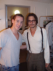Johnny Depp ja Adam Galbraith.