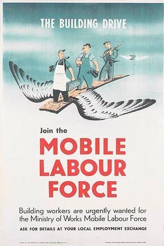 Dorrit Dekk - Join the Mobile Labour Force (Art.IWM PST13971)