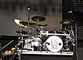 Jon Farriss of INXS drum kit, 2011-02-20 02.jpg