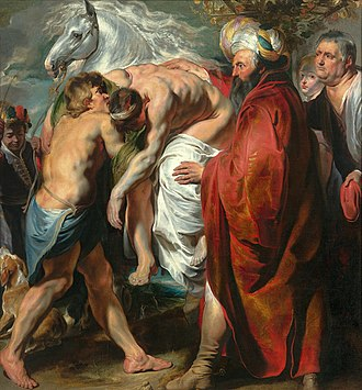 Parable of the Good Samaritan - The Good Samaritan by Jacob Jordaens