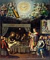 José Juárez - The Last Communion of Saint Bonaventure - Google Art Project.jpg