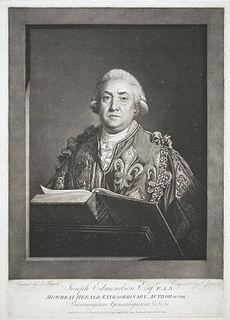 Joseph Edmondson British genealogist