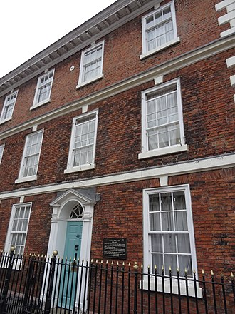 Joseph Rowntree (philanthropist) - The house where Rowntree lived, on Bootham in York.