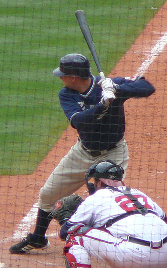 Josh Bard - Bard with the Padres.