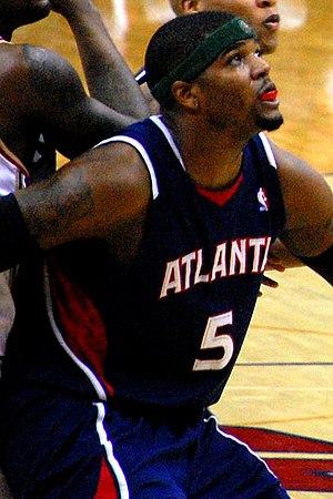 "Josh Smith of the Atlanta Hawks {| class=""..."