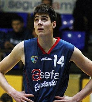Juan Hernangómez - Hernangómez in 2013