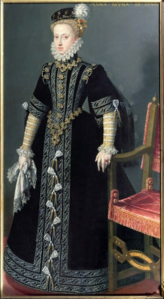Anna of Austria, Queen of Spain - Image: Juan Pantoja de la Cruz 021