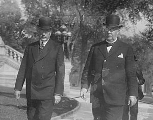 Emory A. Chase - Emory A. Chase and Frank H. Hiscock in 1913