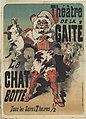 Jules Chéret - Théâtre de la Gaité. Le Chat botté. Tous les Soirs à 7 heures ½ - Original.jpg
