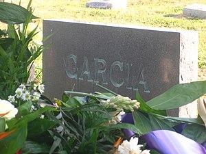 Julio A. Garcia - Grave of attorney Julio Garcia in Calvary Catholic Cemetery in his native Laredo, Texas