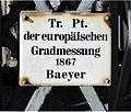 Kölner Dom - Trigonometrischer Punkt der europäischen Gradmessung (1).jpg